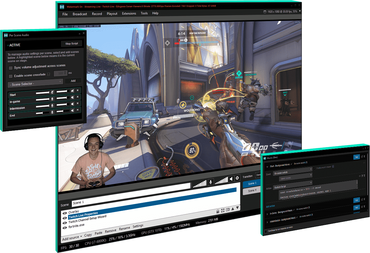 Live streaming on YouTube   XSplit