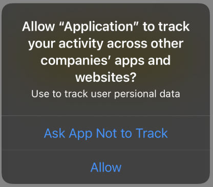 Permission to Track