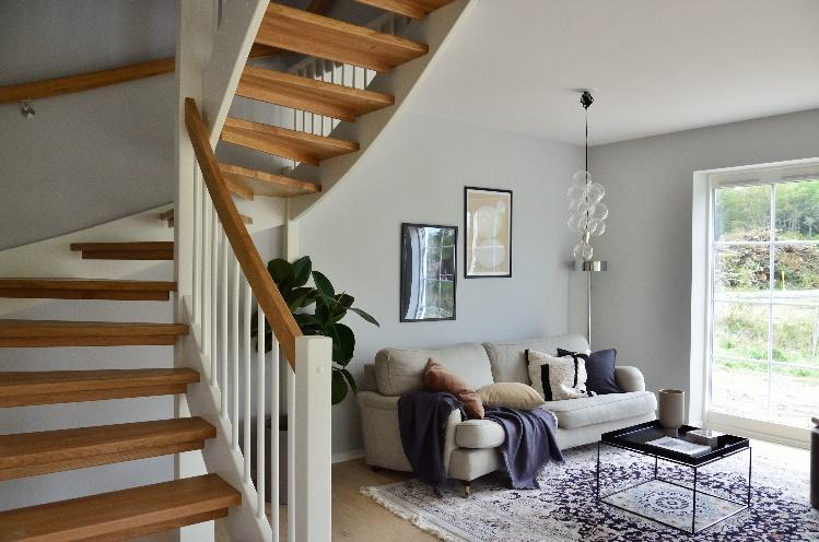 Spiral staircase in a house