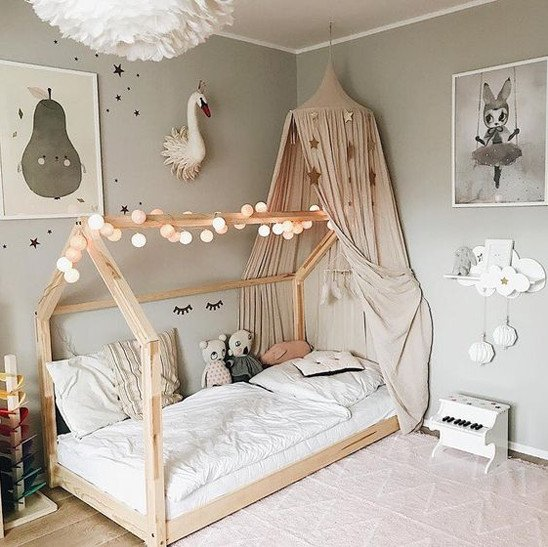 A Cozy Bed Canopy