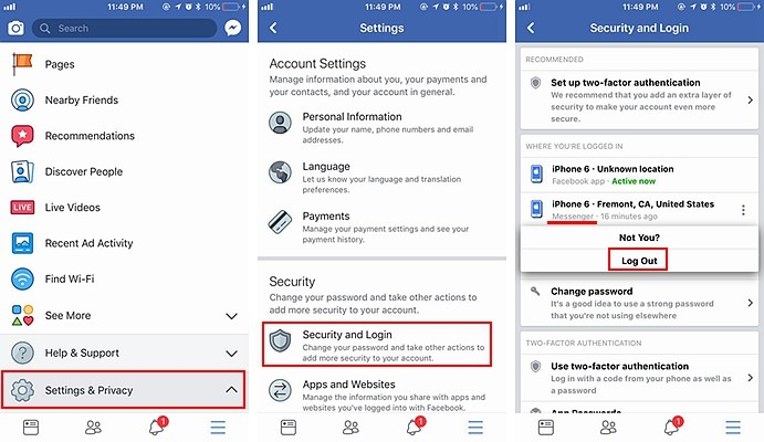 How to Clear Recent Search History from facebook messenger