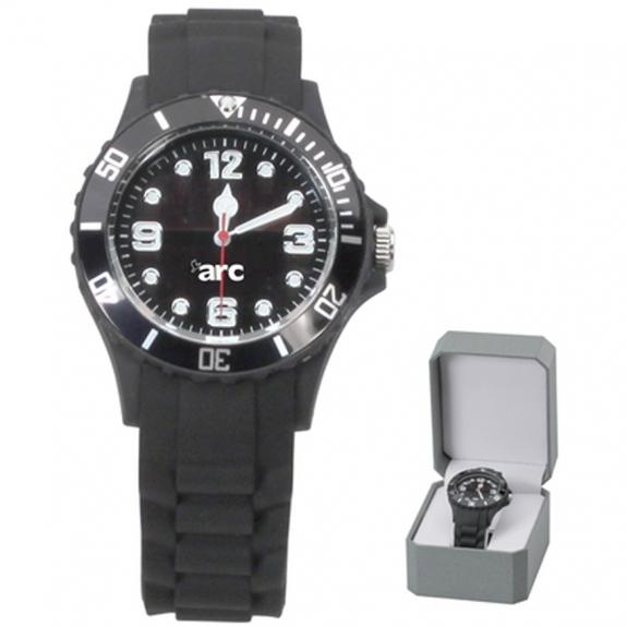 Men's Black-Tone Eco-Drive Watch
