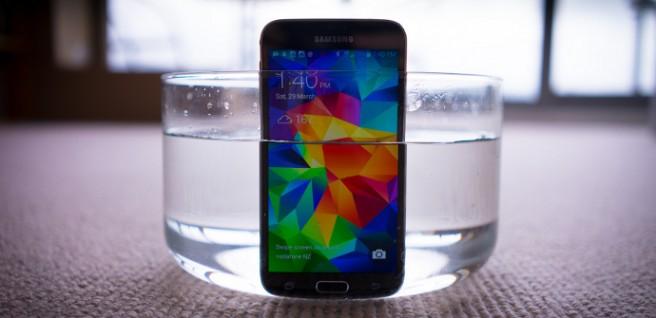 Galaxy S5 resistencia