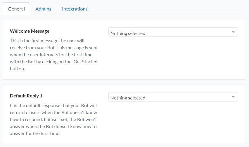settings - silfer bots