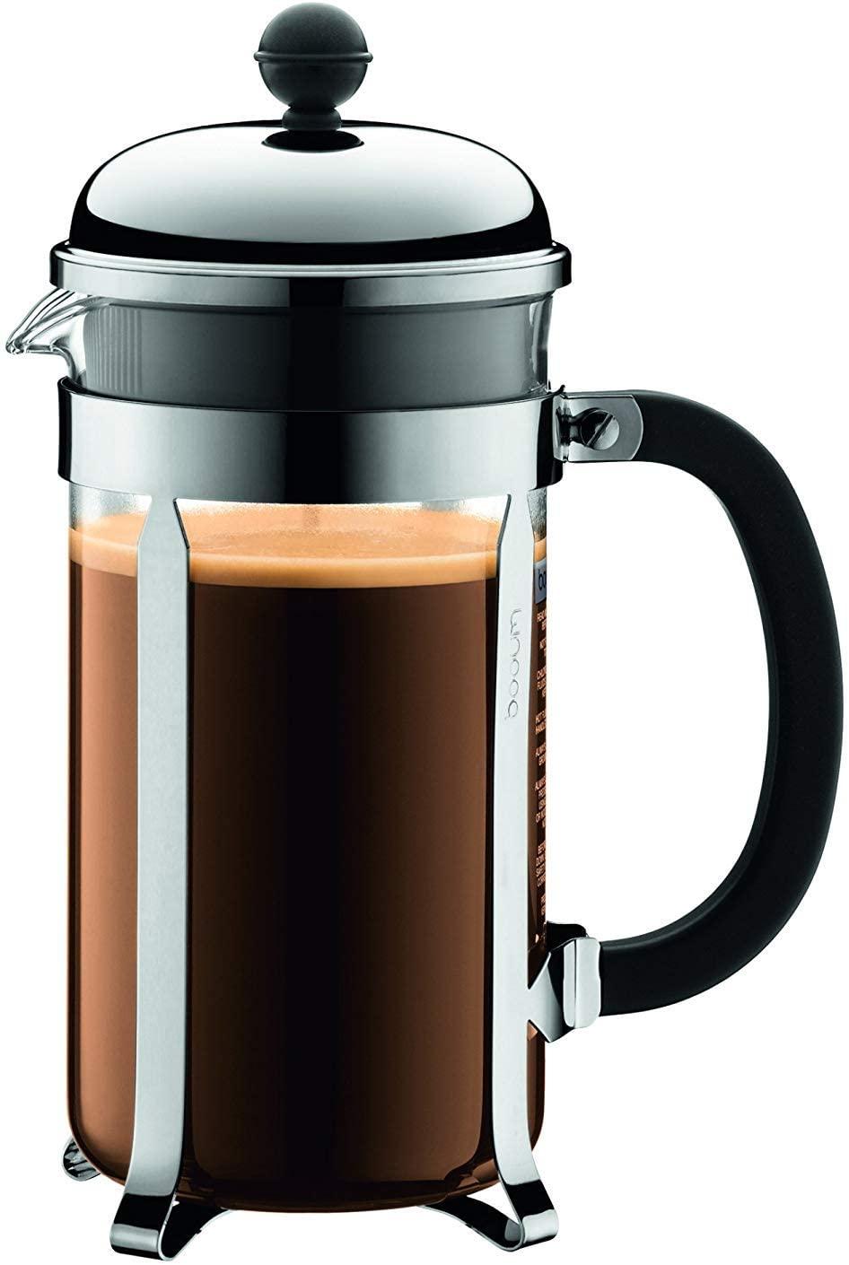 best french press   Bodum 1928-16US4 Chambord French Press Coffee Maker