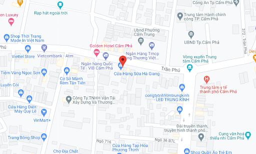 Địa điểm đón/trả khách tại Quảng Ninh