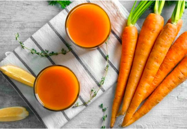 lưu ý khi uống nước ép cà rốt