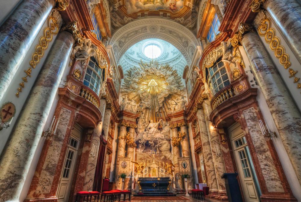 Nhà thờ Thánh Charles – thủ đô Vienna, Áo