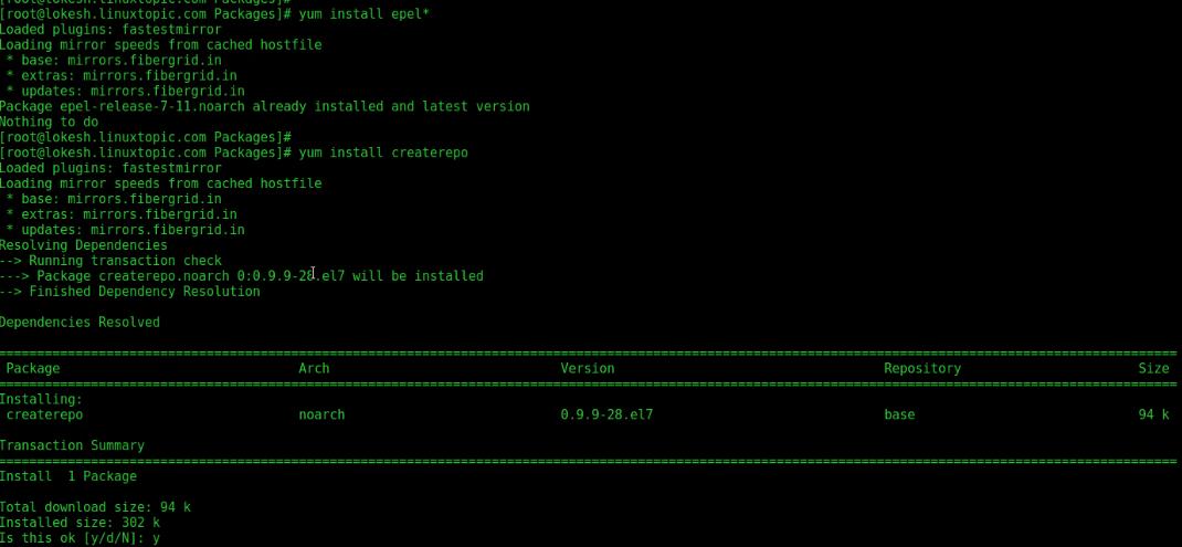 yum server, yum repo server, yum repository server, update yum server, update yum server, update yum repository, update yum, createrepo, yum server tutorial