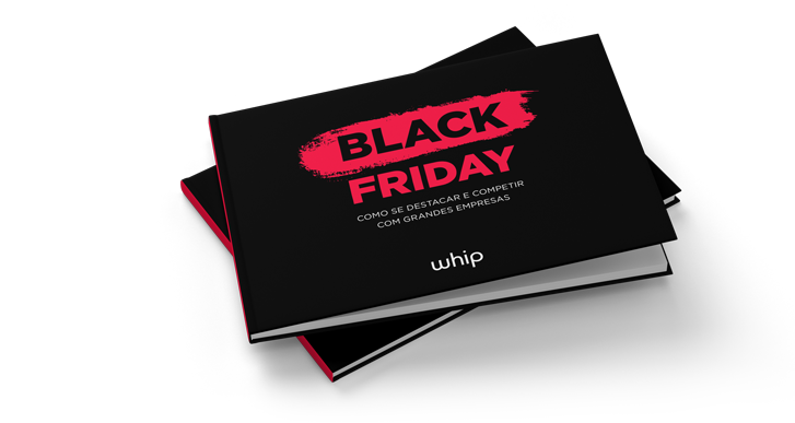 e-book preto e rosa sobre a Black Friday