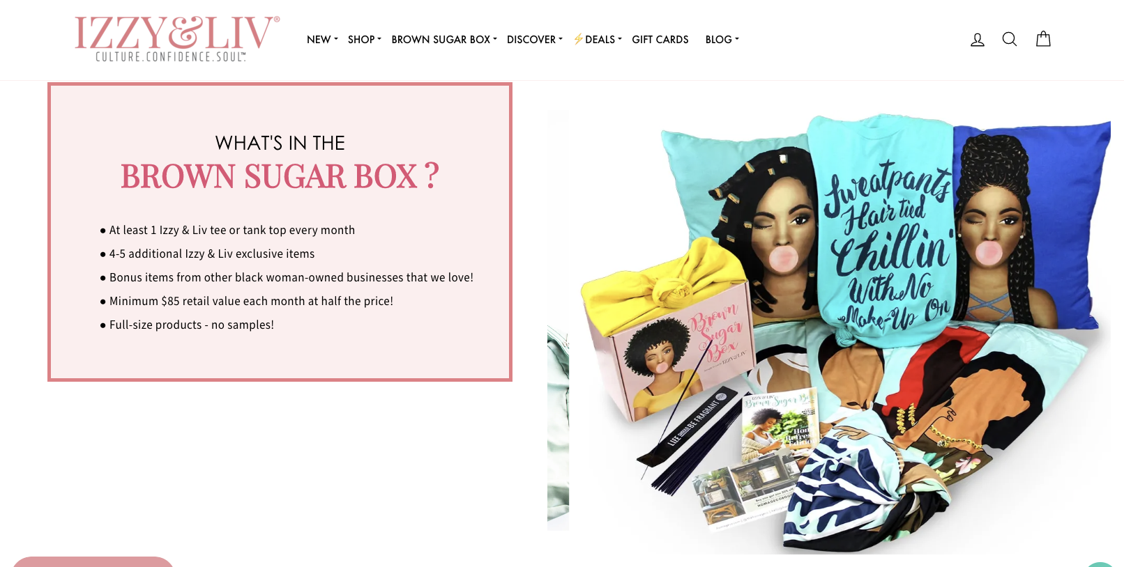 Clothing subscription boxes with a purpose, like Izzy & Liv, do well among younger generations.