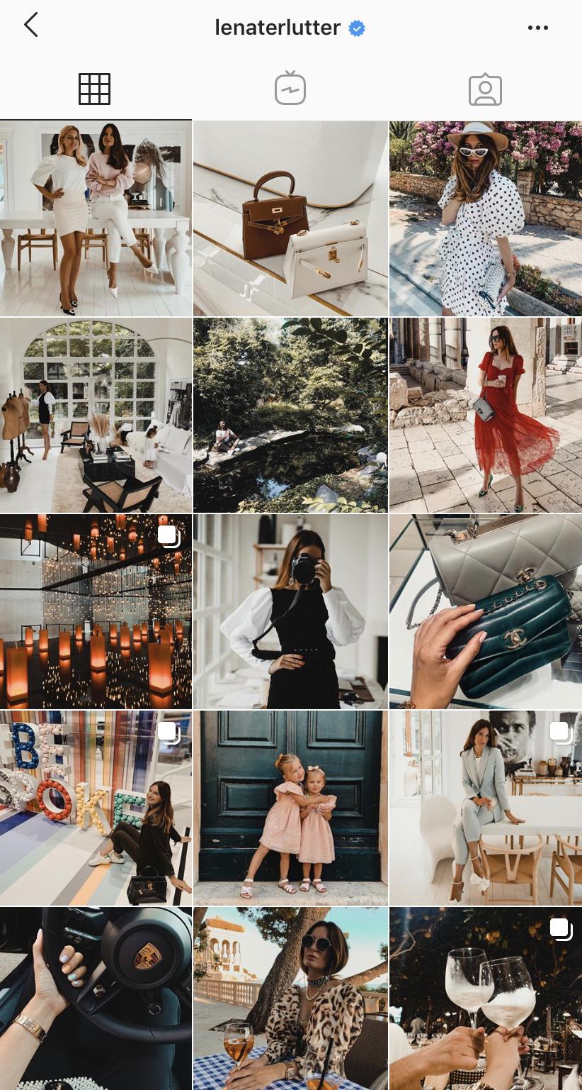 Lena Terlutter Interior Design Instagram