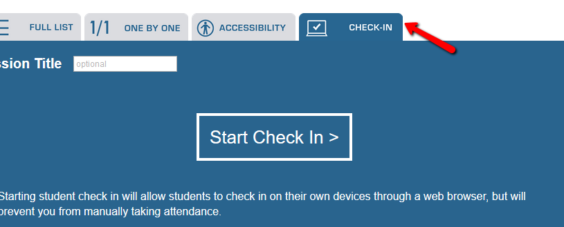 Qwickly Attendance Check-In