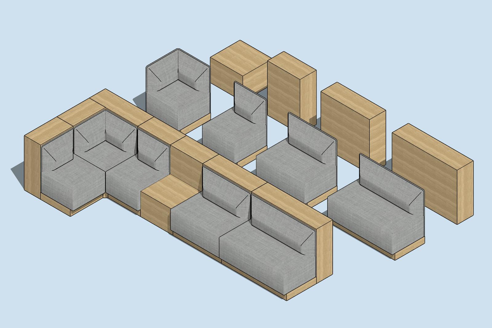 Çalışma Alanları İçin Mobilya Tasarımı: Danimarka Tarzı 5