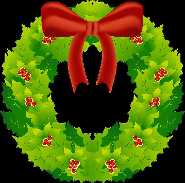 Wreath, Christmas, Decoration