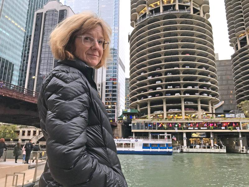 A photo of Annette Barker in Chicago