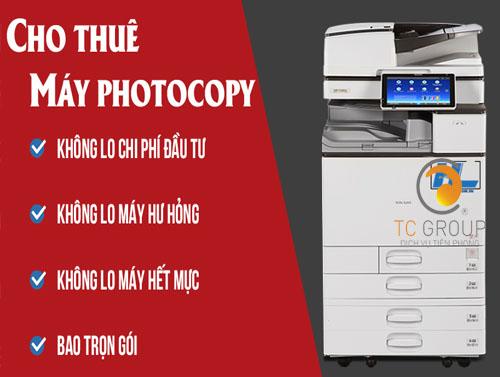 Giải pháp cho thuê máy photocopy