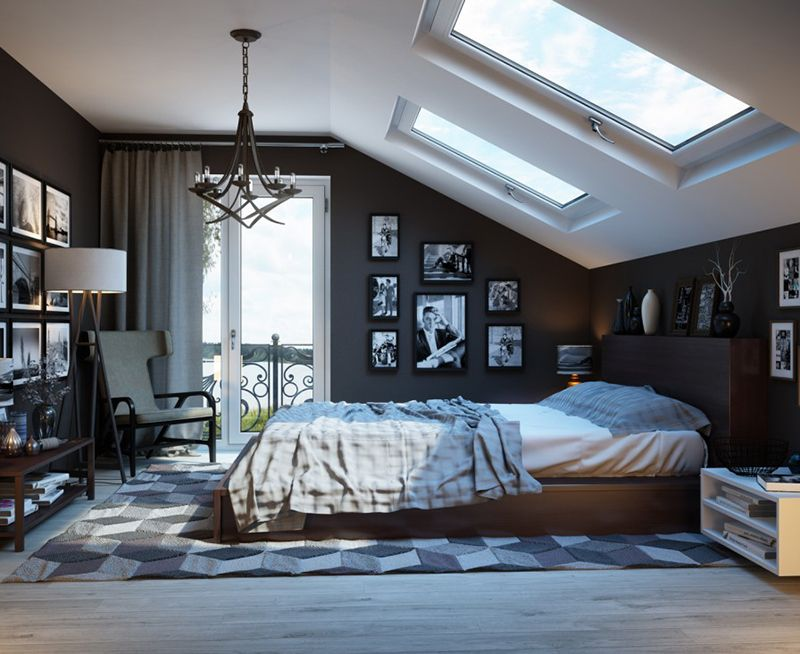 Add a Gallery Wall For a Stunning Effect men's bedroom ideas