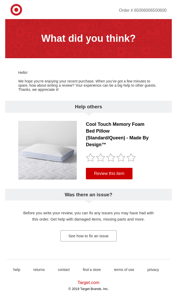 email template 8
