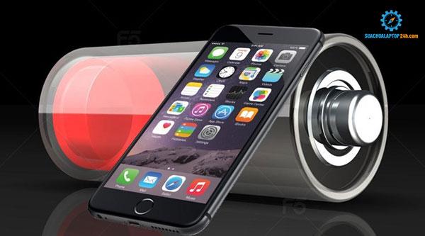 khắc phục pin iPhone bị chai