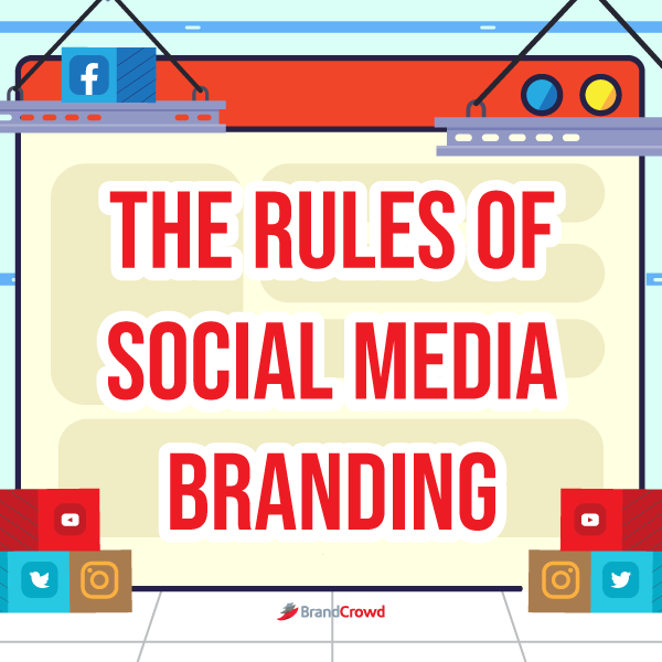 the-image-is-a-drawing-of-a-browser-for-the-rules-of-social-media-branding-section