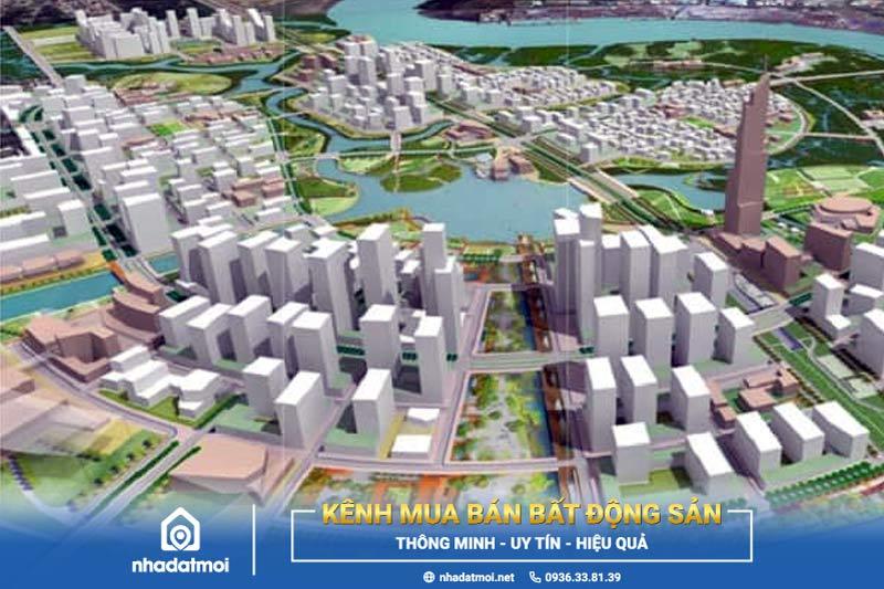 dự án khu đô thị thủ thiêm