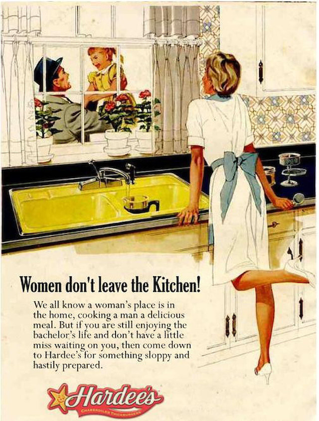 An Artist Reversed The Gender Roles In Sexist Vintage Ads To Point Out How  Absurd They Really Are