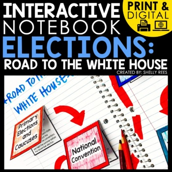 Presidential Elections Process Interactive Notebookbook