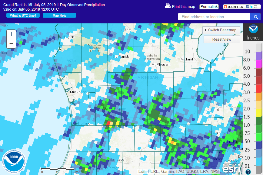 July 4 2019 Summary On or about december 8, 2020, the one hour precipitation. july 4 2019 summary