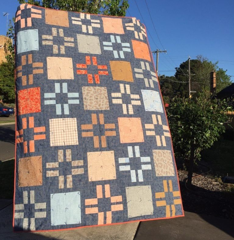 Layer Cake Custard Quilt
