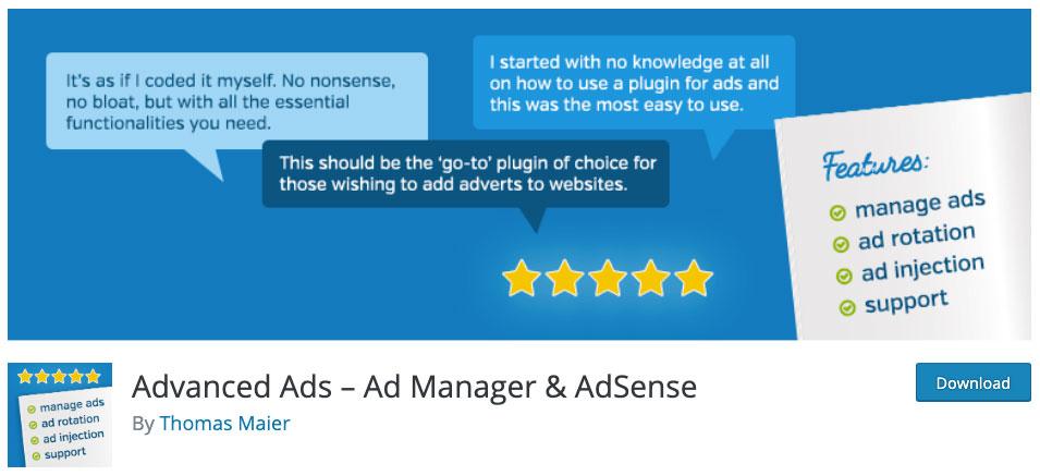 AdvancedAds header image.
