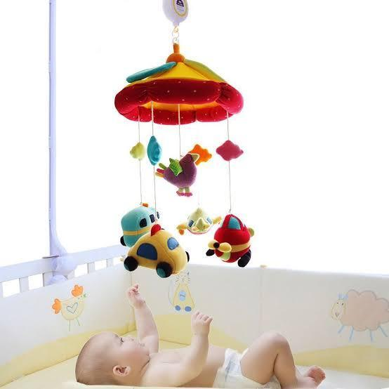 Shiloh Plush Musical Baby Mobile