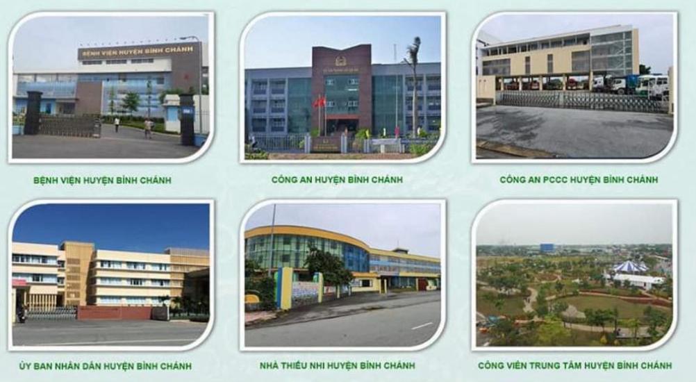 Dự án sở hữu nhiều tiện ích ngoại khu cao cấp