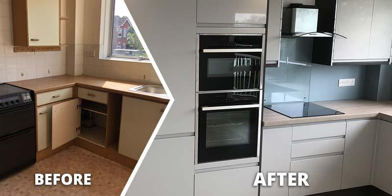 New Complete Fitted Kitchen in Exmouth - Simon Turner Showrooms