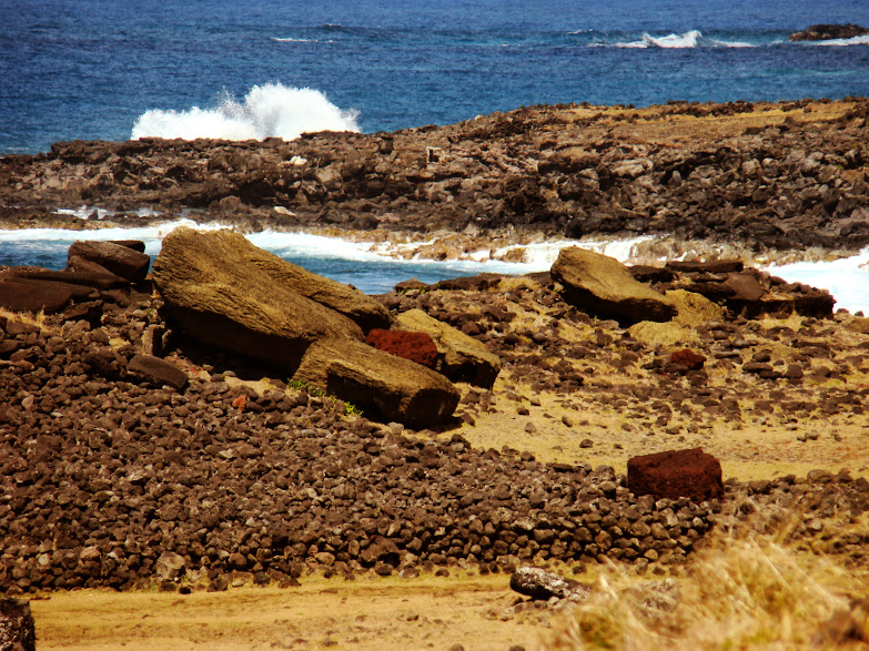 La bici en la Isla de Pascua / Rapa Nui
