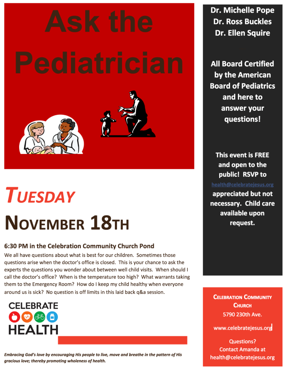 Ask the Pediatrician