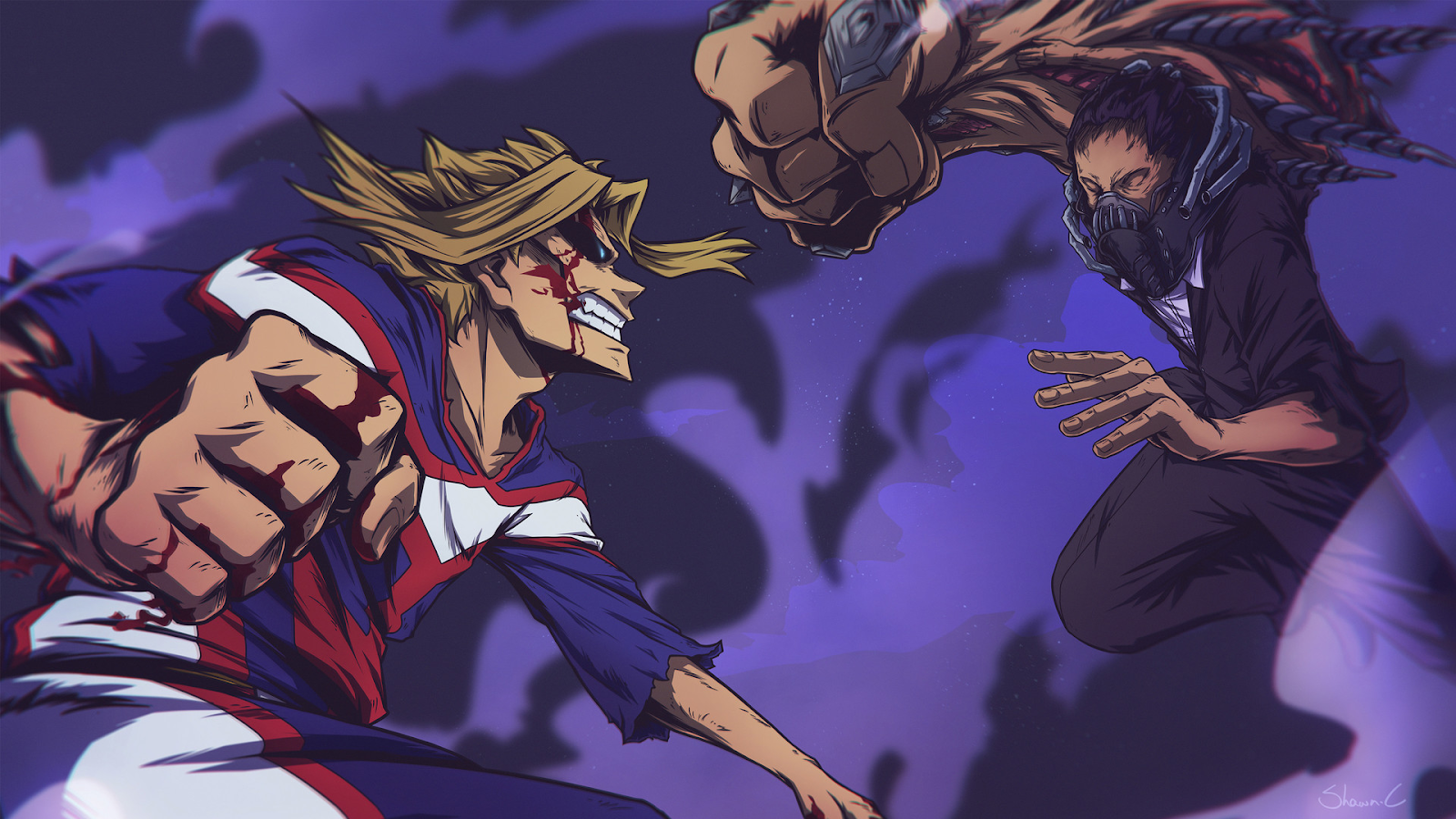 all for one vs one for all my hero academia