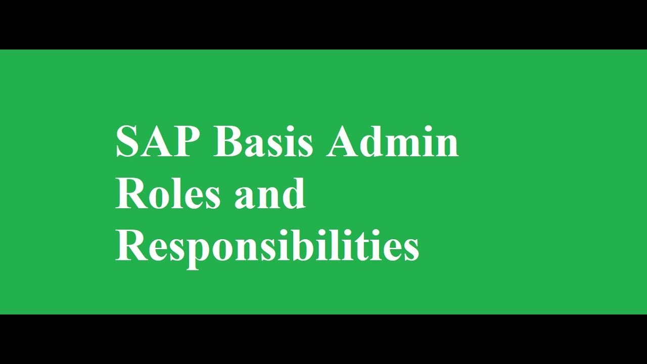 SAP BASIS Training in Delhi