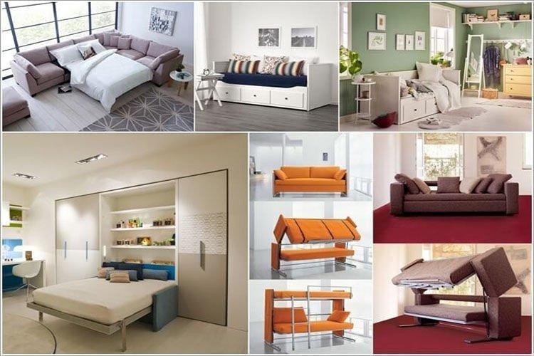 Vì sao nên mua giường thông minh kết hợp sofa