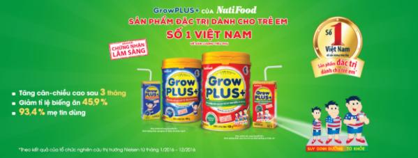 Sản phẩm đặc trị dành cho trẻ em bán chạy số 1 Việt Nam