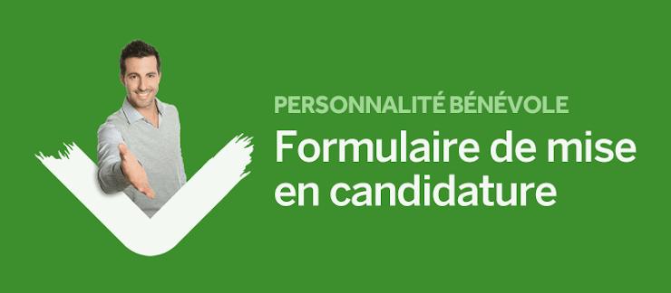 Formulaire de mise en candidature