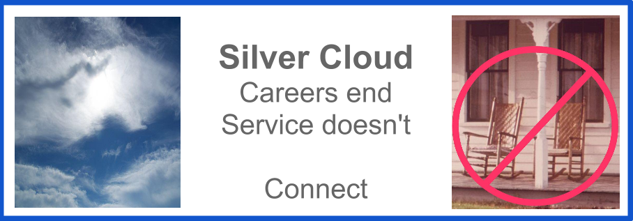 Careers end;  Service doesn't;  Connect