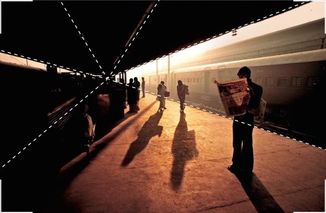 Đường dẫn ánh nhìn trong bức ảnh