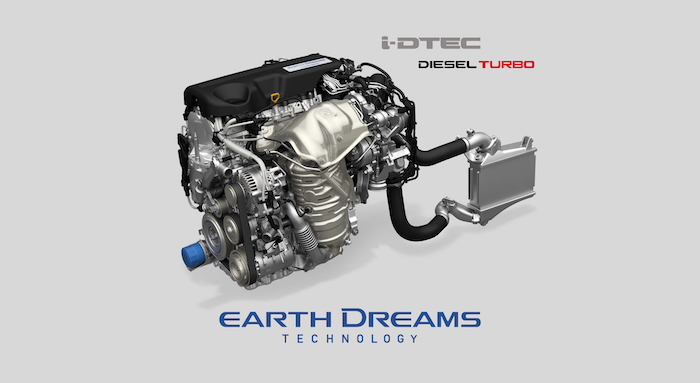 เครื่องยนต์รถยนต์ : Honda CR-V 2021