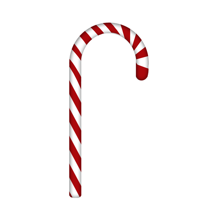 Candy Cane, Christmas ...