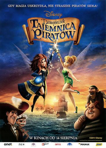 Przód ulotki filmu 'Dzwoneczek i Tajemnica Piratów'