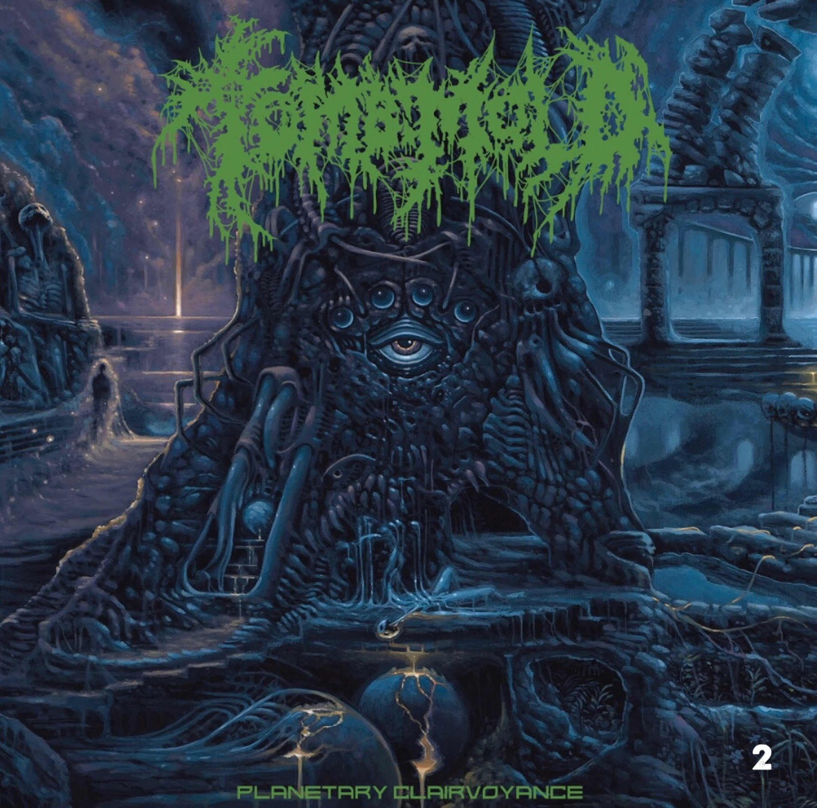 """Tomb Mold """"Planetary Clairvoyance"""""""
