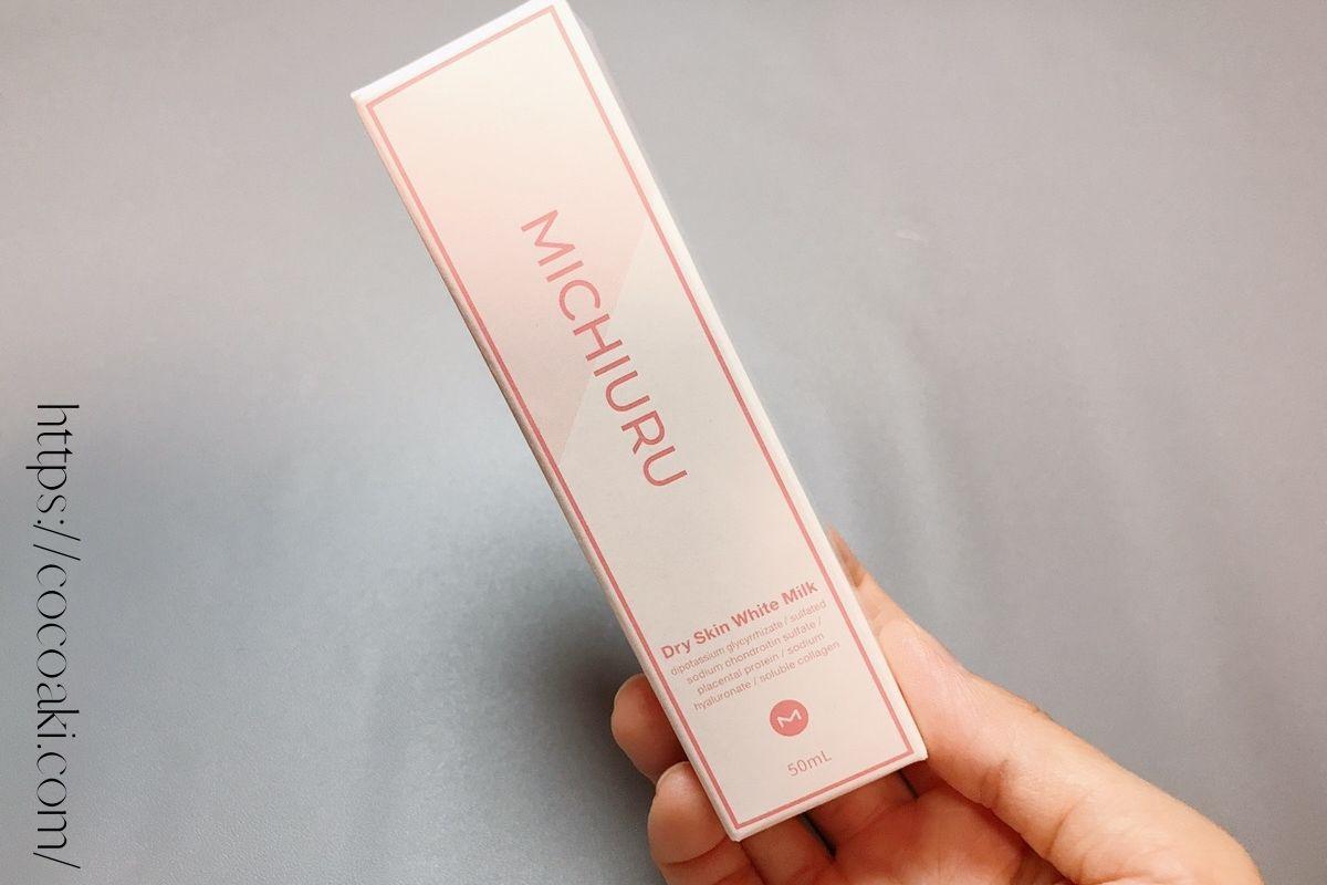 【MICHIURUドライスキンホワイトミルクの使用方法や使い心地】使い方は時短で簡単!!顔だけじゃない、全身使えるマルチなモイスチャー