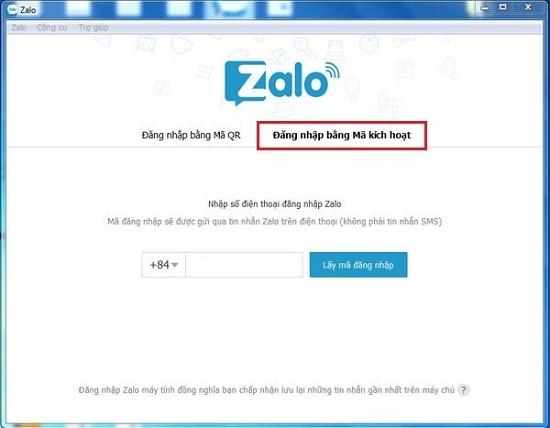 Chia sẻ cách đăng nhập zalo web trên điện thoại