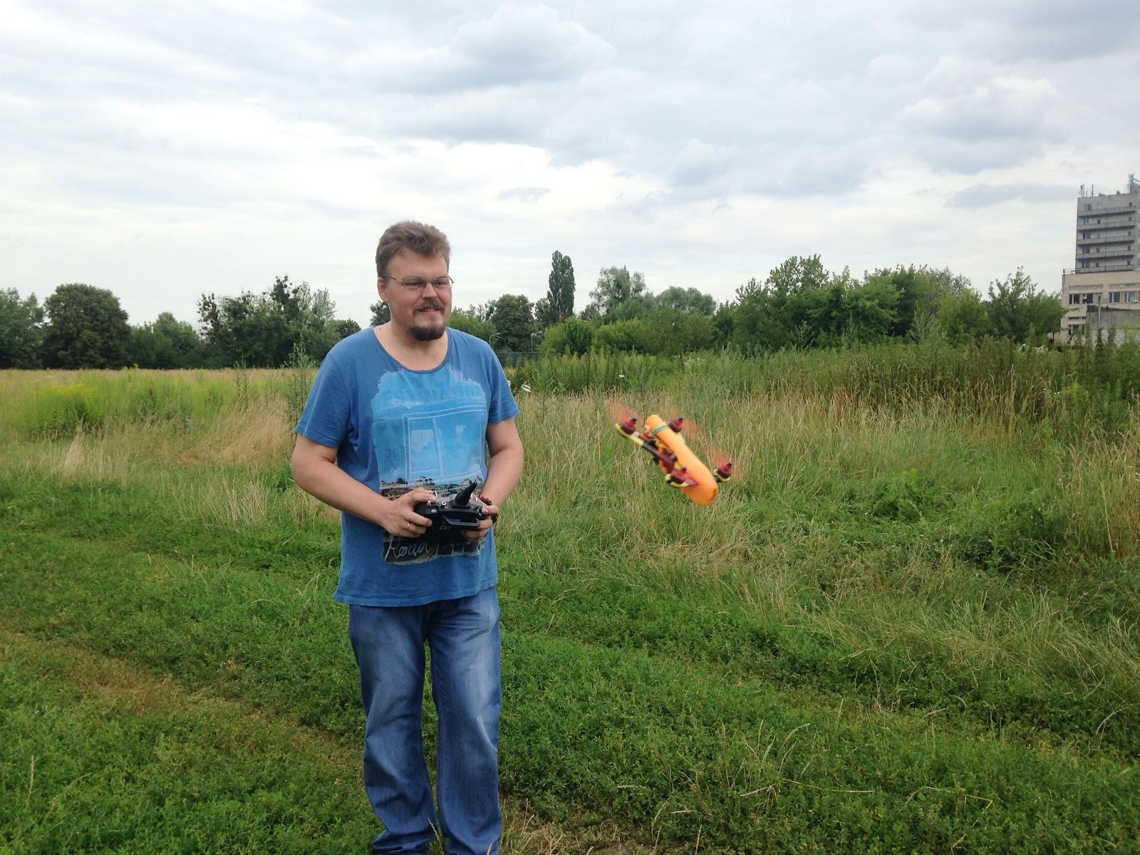 Dmytro Starostin, the center's instructor